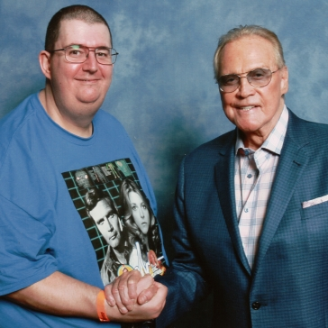 Me with Lee Majors (Colonel Steve Austin)